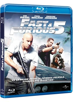 THE FAST & FURIOUS 5 (A TODO GAS 5) (BLU-RAY)