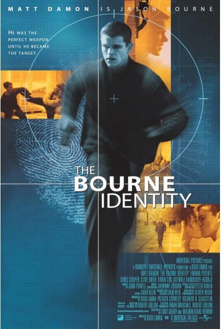 THE BOURNE IDENTITY (EL CASO BOURNE) (BLU-RAY)