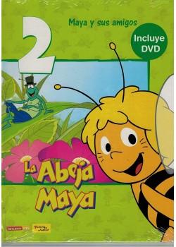 Maya y sus Amigos DVD Libro