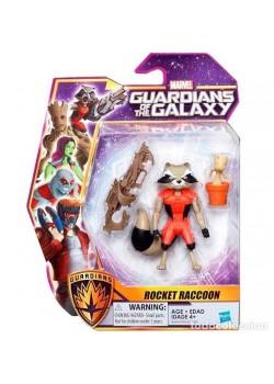 Figura Rocket Raccoon - Guardianes de la Galaxia - Marvel - Hasbro