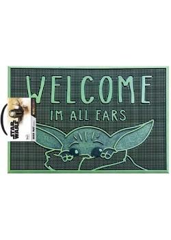 MANDALORIAN Felpudo Caucho I'm All Ears Baby Yoda
