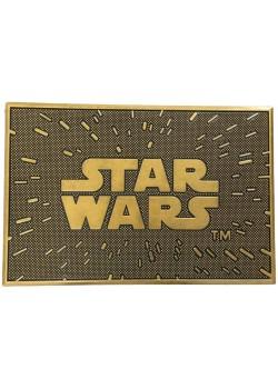 STAR WARS Felpudo Caucho Logo saga