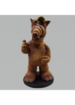 Genérico Alf Figura Artesanal de Resina 15 cms