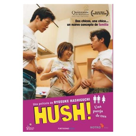 Hush! Una pareja de tres [DVD]
