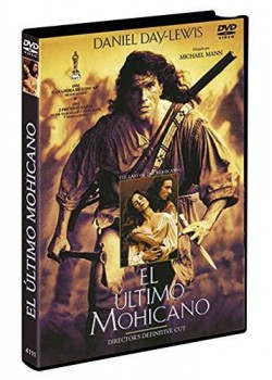 El Último Mohicano DVD The Last of the Mohicans 1992