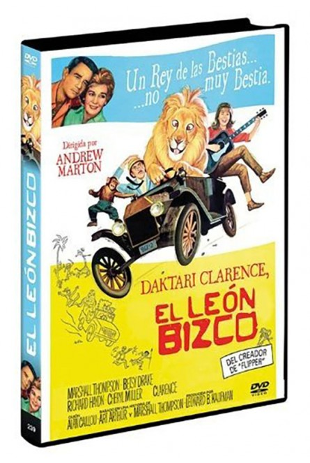 Daktari Clanrence, el leon bizco [Italia] [DVD]