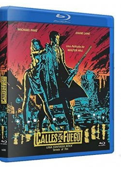 Calles de Fuego BD 1984 Streets of Fire [Blu-ray]